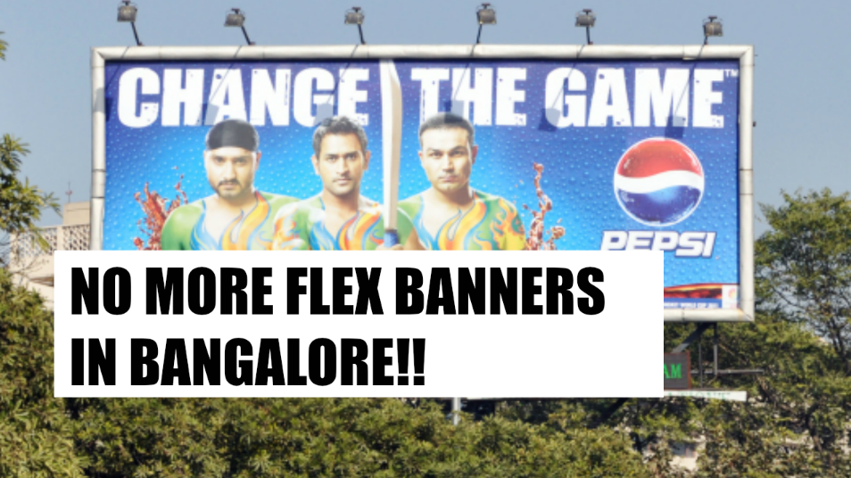 no flex banners