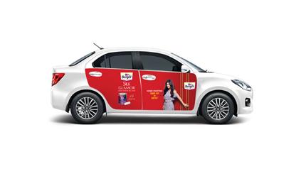 Berger Paints Car Branding