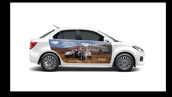 Zoomcar Car Branding