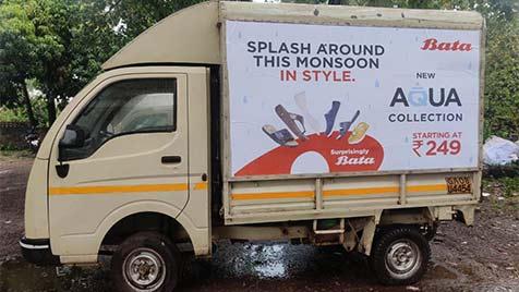 Truck Advertisement- Tata Ace