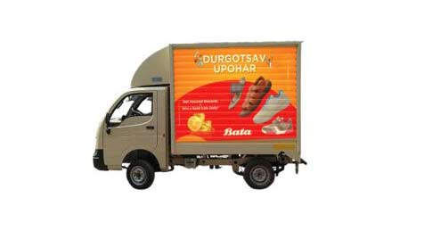 Truck Advertisement- Tata Ace
