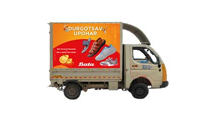 Tata Ace Advertising for Bata