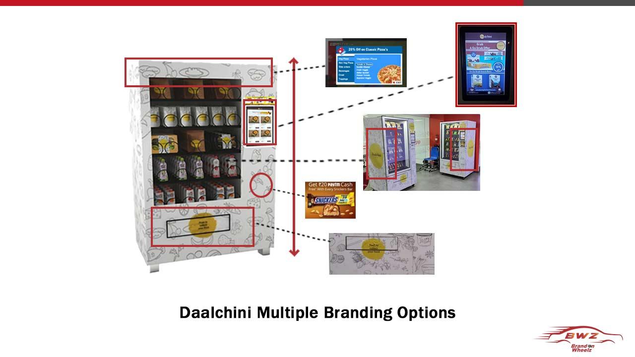 Daalchini Advertising With BrandOnWheelz