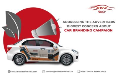 Addressing the Advertisers Biggest Concern – Car Branding Campaign Successful Execution