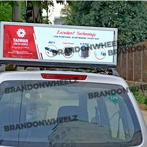 Car Roof Branding