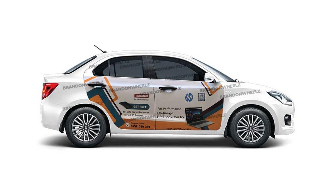 car branding in india