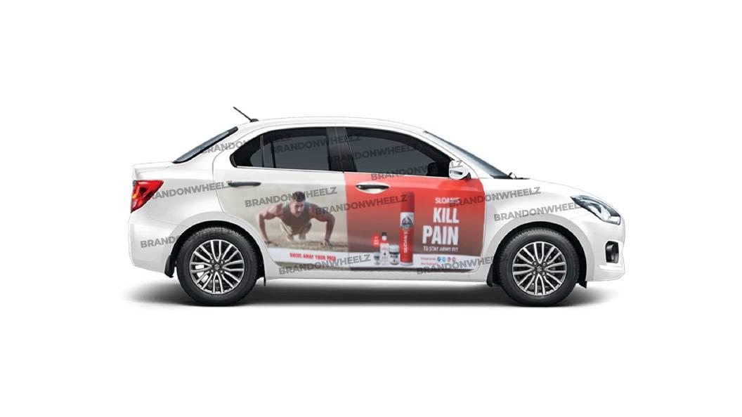 Ads on Car